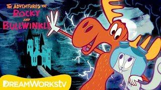The Non-Spooky Spooky House | ROCKY & BULLWINKLE