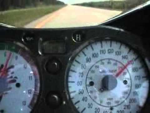 Suzuki Hayabusa at 320KmH
