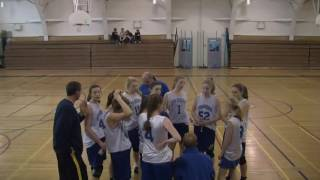 Acton Boxborough Jr High Girls Basketball vs TAP May 2014