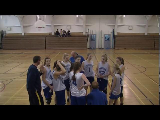 Acton Boxborough Jr High Girls Basketball vs TAP May 2014
