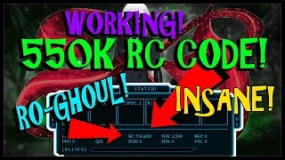 [INSANE] 550k RC WORKING CODES IN RO-GHOUL | Roblox