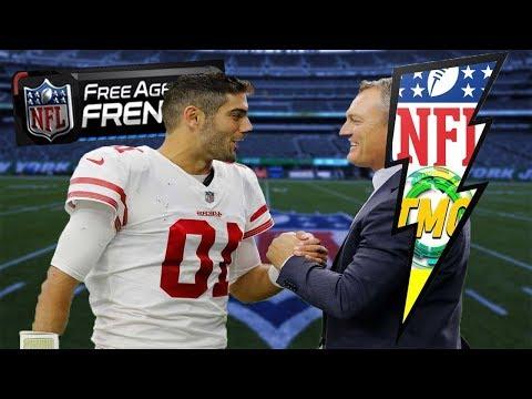 JIMMY GAROPPOLO SIGNED A FIVE YEAR DEAL! JOSH MCDANIELS BAILS!?| THE NFL NEWS FLASH