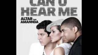 ALTAR feat. AMANNDA - CAN U HEAR ME (Radio Edit)
