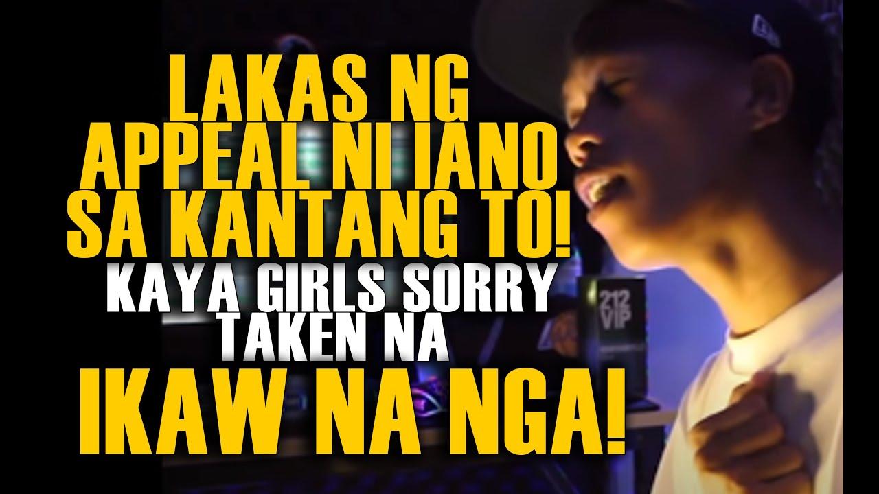 LAKAS NG APPEAL NI IANO SA KANTANG TO! KAYA GIRLS SORRY TAKEN NA! IKAW NA NGA COVER BY MARIANO!