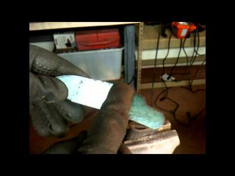 Building a flintlock pistol from scratch- Part 6 cutting the stock blank and working on the lock
