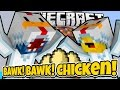 BAWK BAWK CHICKEN!! - Minecraft Mini Game W/AshDubh