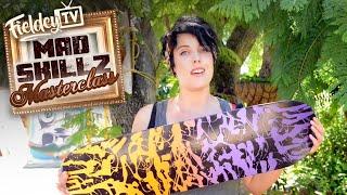 Killer spray job for your skateboard - it's super easy! | MSM 1