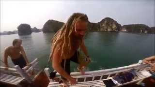 Vietnam Backpackers - Castaways 4/5/6 april 2015 HA LONG BAY