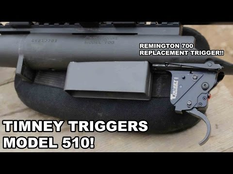 Timney Triggers Model 510! Remington 700 Replacement - YouTube