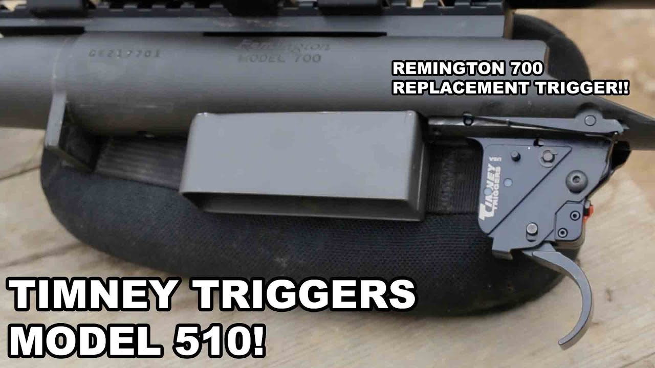 Timney Triggers Model 510! Remington 700 Replacement
