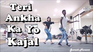 Teri Ankha Ka Yo Kajal || Sapna Choudhary || Zumba Fitness Dance || Choreography Ganesh Manwar