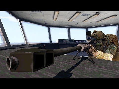 Тушино - 27-28.07.18   Снайпер M40A5, СВД, Barrett M107 (Arma 3)