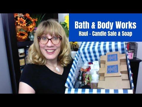 Bath & Body Works Haul Candle Sale & Soap