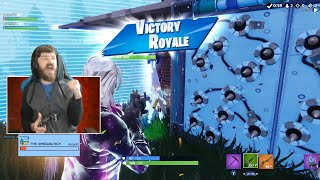 Fortnite Season 7 Gameplay! Got a Win with Divinity in Duos!