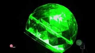 Lightshow 10.24 In. Green Projection Kaleidoscope Spotlight (gemmy)