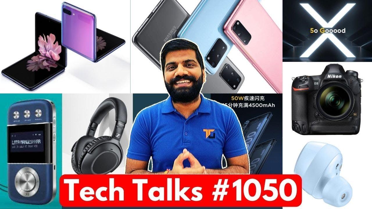 Charlas tecnológicas # 1050 - Redmi Note 8 Price Rise, S20 Launch, V19 Pro Launch, Mi 10 Leaks, Realme X50 5G + vídeo