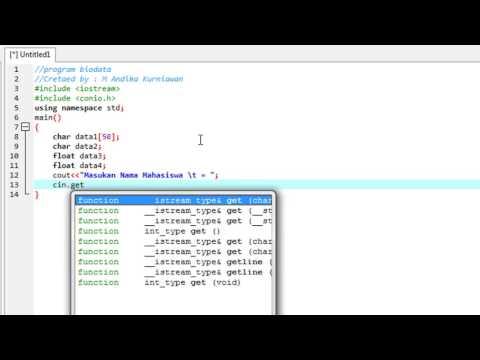 Cara Mudah Belajar Dev C++