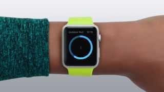Apple Watch відео інструкція російською - Тренування