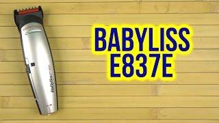 Розпакування BABYLISS Е 837 Е