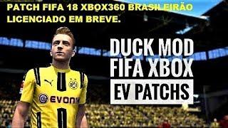 PATCH FIFA 18 XBOX360 BRASILEIRÃO LICENCIADO EM BREVE.