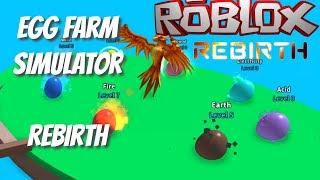 [NEW] Egg Farm Simulator Beta - FIRST REBIRTH - Roblox