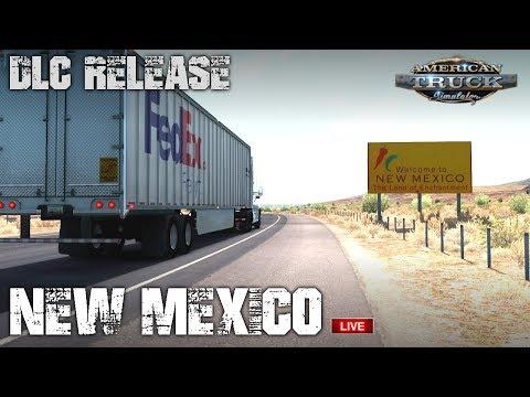 NEW MEXICO DLC   Wheelcam w/ SKRS Shifter    AMERICAN TRUCK SIMULATOR