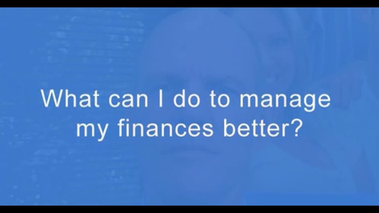 what can i do to manage my finances better john grocke youtube