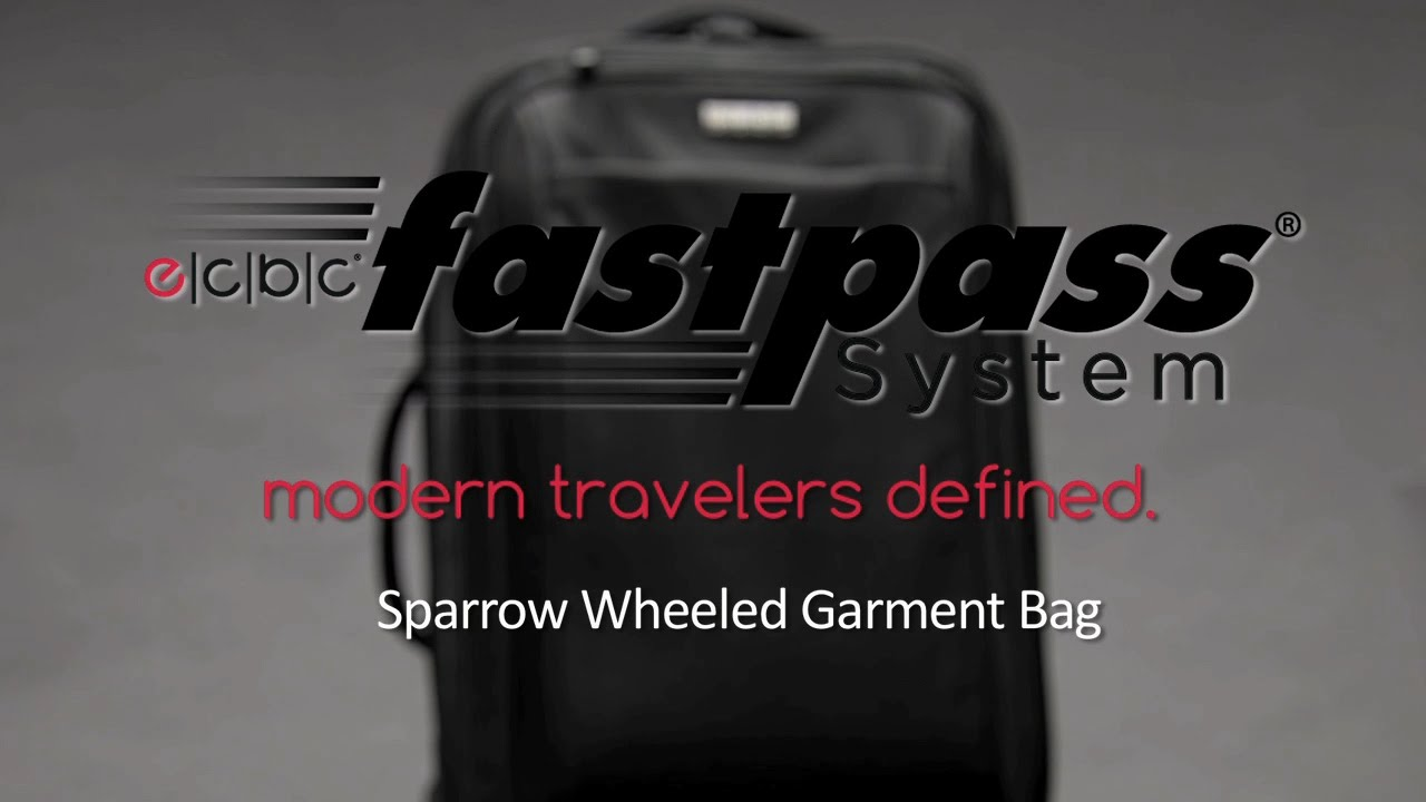 15163a8e33 ecbc Sparrow Wheeled Garment Bag - Product Features Walk-Through