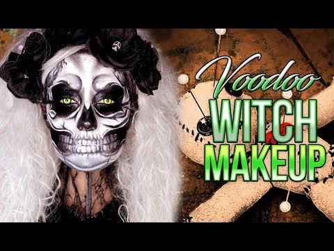 Skull Queen | VooDoo Priestess | Halloween Makeup Tutorial 2017 | Victoria Lyn Beauty