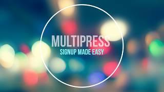 MultiPress - Create MultiStep Registration Form in Just 2 Min..