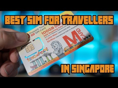 How to buy the best Singapore tourist SIM card? Mp3