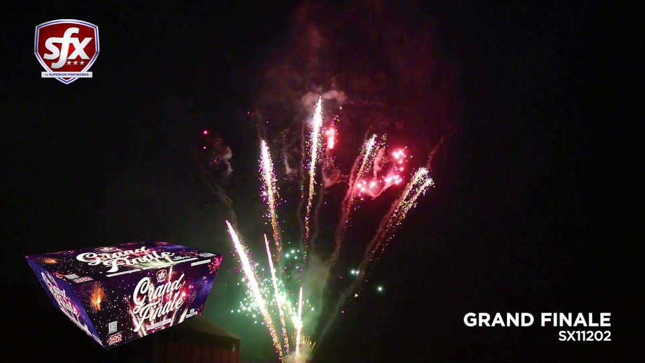 Grand Finale by SFX Fireworks   Superior Fireworks