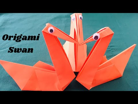 Origami Swan 🦢-Tutorial/ CAC26 TV