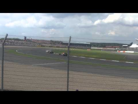 British Grand Prix 2011 Last Lap Hamilton and Massa
