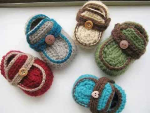 Crochet Patterns In Youtube : Baby Boy Crochet Patterns - YouTube