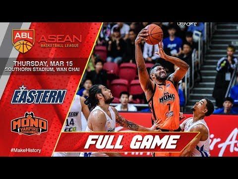 Hong Kong Eastern vs Mono Vampire | FULL GAME | 2017-2018 ASEAN Basketball League