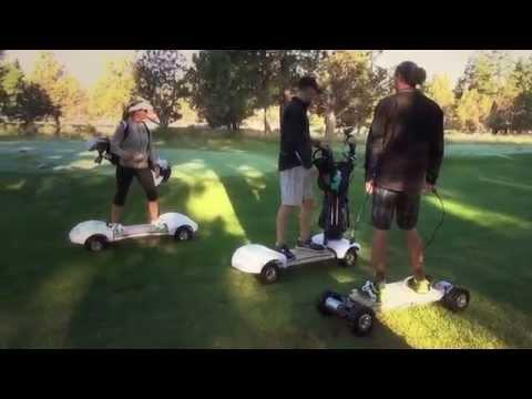 Видео: New golf board ( Доска для гольфа)