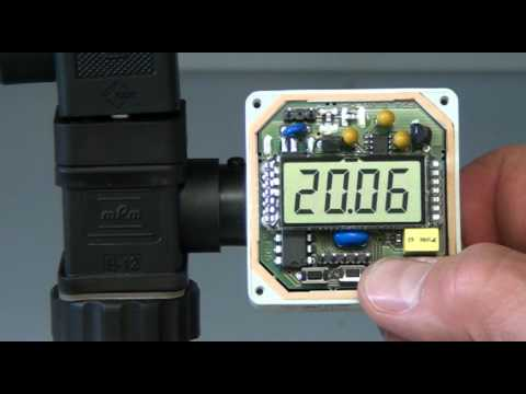 How To Program A NOSHOK 1800 Series Attachable Loop Powered Digital Indicator