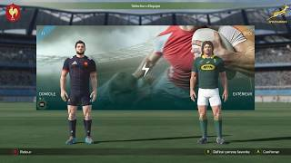 FRANCE - AFRIQUE DU SUD :  Rugby 18[PC]