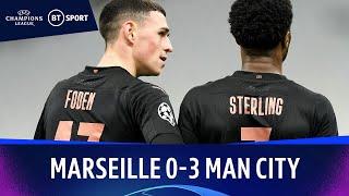 Marseille v Man City (0-3) | Champions League Highlights