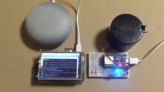 Google Home + ESP32 + HC-SR501焦電型赤外線センサーモジュール の実験