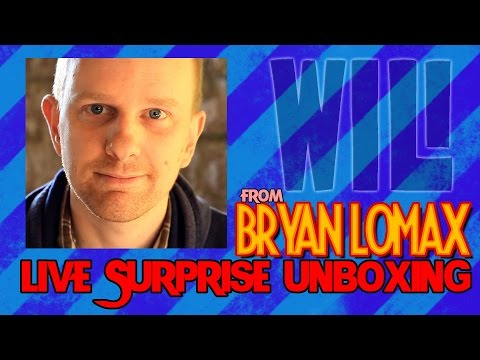Live Unboxing from Bryan Lomax & American eats British chocolate (plus more)