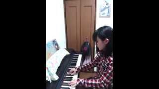 AKB48さんの「夢の河」ピアノバージョン by 植木南央.