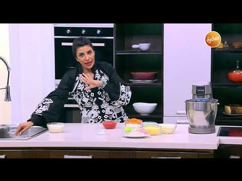 صورة  طريقة عمل البيتزا طريقة عمل عجينة البيتزا | أميرة شنب طريقة عمل البيتزا من يوتيوب