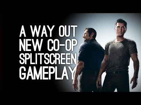 A Way Out Co-Op Gameplay: Let's Play A Way Out with Josef Fares - OH MY GOD ELLEN NO