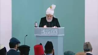 Friday Sermon: 6th May 2011 (Urdu)
