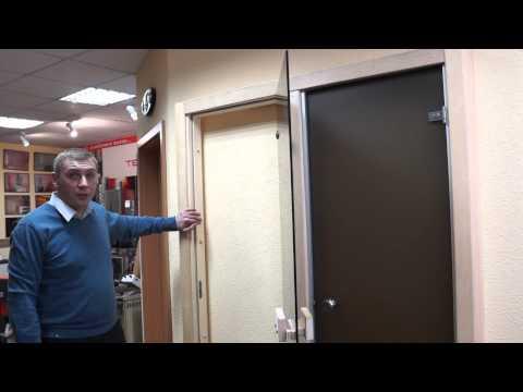 Двери для сауны. Видео-обзор