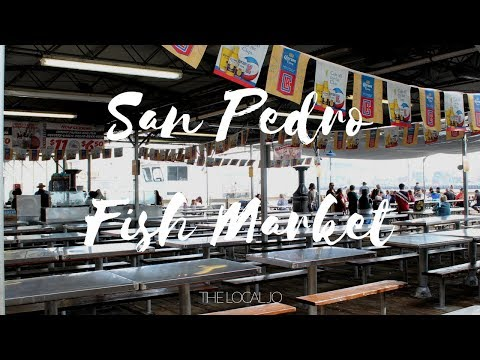A Day At The Fish Market In San Pedro