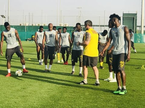AFCON 2019:GHANA VS SOUTH AFRICA STARTING XI, WHERE TO WATCH & TRAINING VIDEOS AHEAD OF GAME