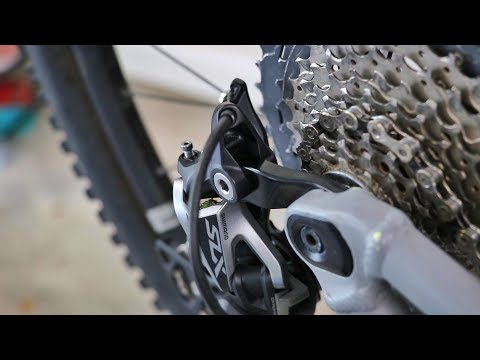Direct Mount Rear Derailleur--Don't Forget To Remove The Link!
